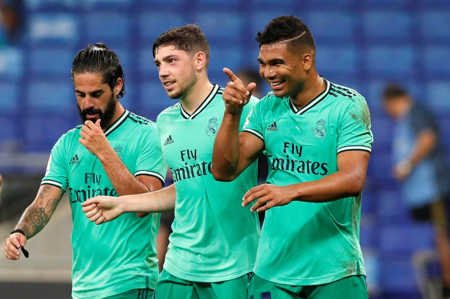 西甲-武磊首发卡塞米罗破门 皇马1-0西班牙人登顶