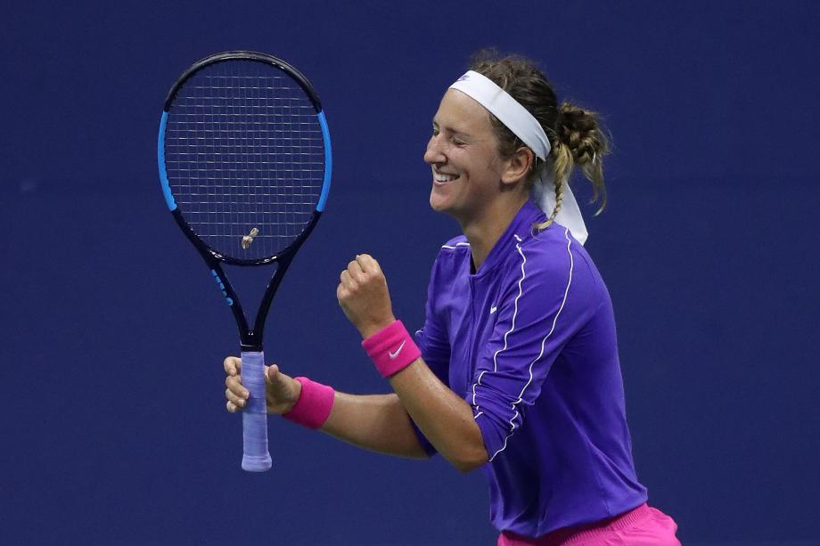 [图]阿扎重返大满贯四强 美网半决赛将战小威