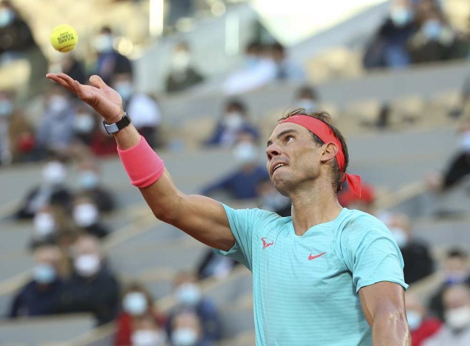 法网纳达尔赢复仇战第13次进决赛 将与德约争冠