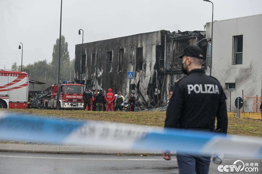 一小型私人飞机在意大利北部坠毁 机上8人全部死亡