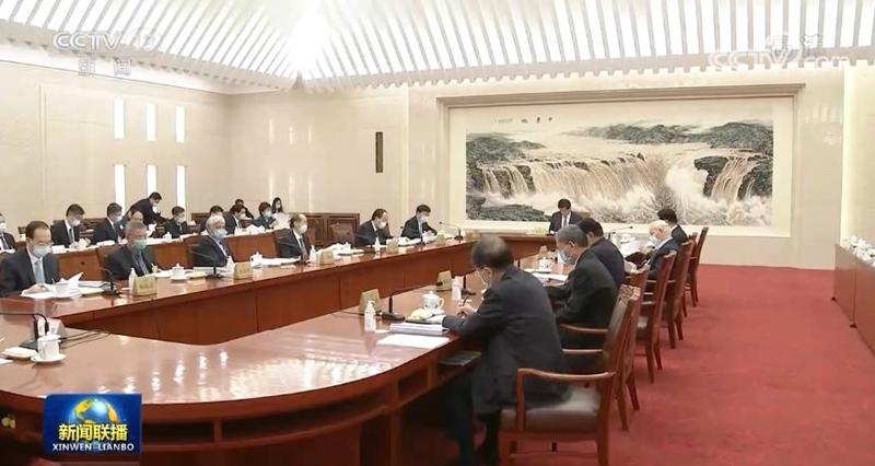 十三届全国人大常委会举行第八十二次委员长会议 听取有关草案和议案审议情况汇报