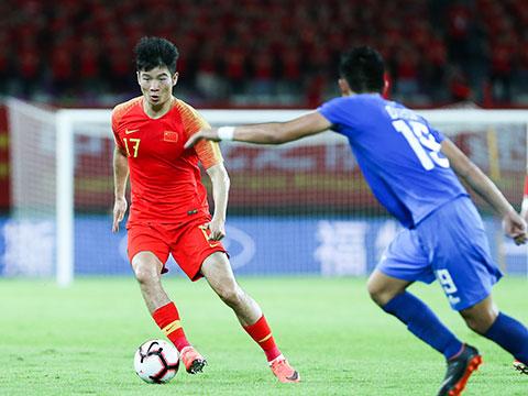 [国足]广州国际足球赛:中国VS菲律宾 下半场