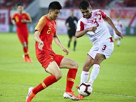 [国足]国际足球友谊赛 中国1-0塔吉克斯坦 集锦