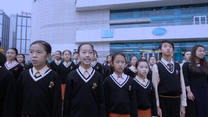 香港各界人士同唱国歌 00:02:14