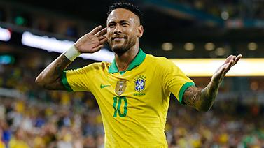 [图]热身赛-内马尔传射建功 巴西2-2哥伦比亚