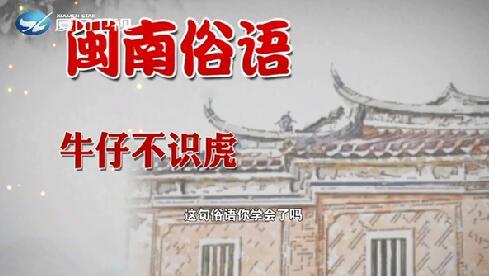 【学说闽南话】牛仔不识虎 2019.09.10 - 厦门卫视 00:01:06