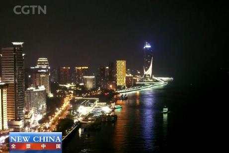 中国国际电视台CGTN《全景中国》栏目用英语向全球推介厦门 00:15:03