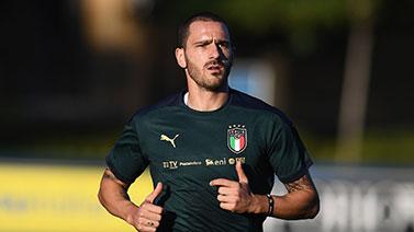 [图]欧洲杯预选赛J组前瞻:意大利队训练备战