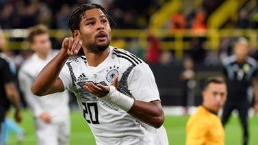 [图]格纳布里传射 德国2球领先主场2-2平阿根廷