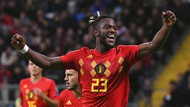 [图]欧预赛-阿扎尔助攻 比利时2-0告捷8战全胜领跑