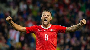 [国际足球]瑞士击败爱尔兰
