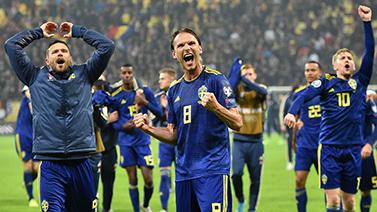 [国际足球]客场取胜 瑞典稳固F组第二位