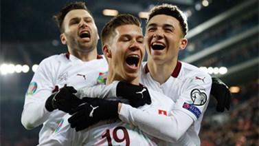 [国际足球]瑞士一球小胜 暂列小组第二
