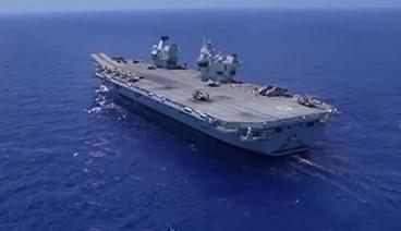 """《今日关注》 20210626 俄英舰机地中海""""冤家碰头"""" 英国扬言再派舰进克里米亚"""