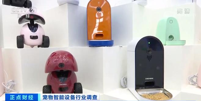 宠物智能设备新品频发 海内外市场销售一片火热