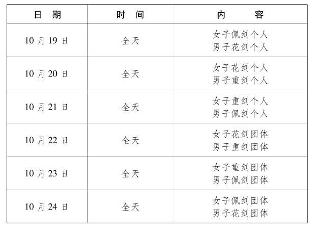 2019武汉军运会项目介绍——击剑_体育_央视网(cctv.com