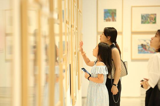 少儿美术展前言_首届全国少儿美术作品展在京开幕_书画_央视网(cctv.com)
