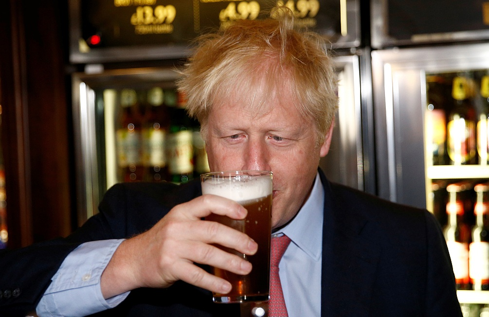 Boris Johnson, a leadership candidate for Britain
