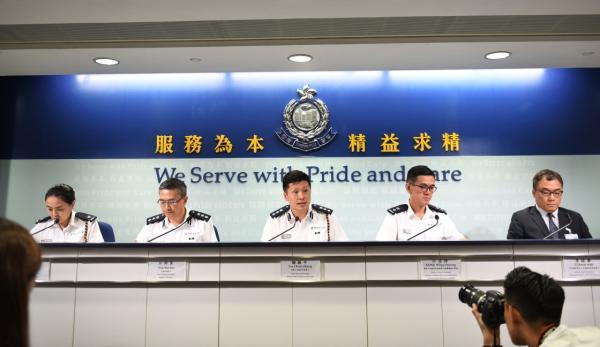 香港警方:不会姑息任何暴力事件,对每宗案件不偏不倚