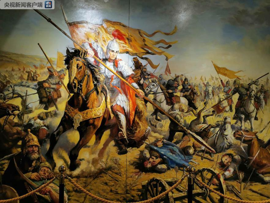 霍去病征战匈奴收复河西。