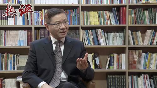 """张维为教授:想在香港搞""""颜色革命""""不会成功"""