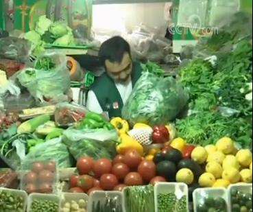 >节日期间蔬菜猪肉供应如何?一起去市场看看