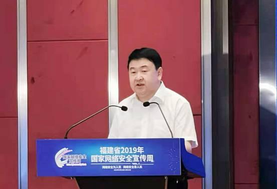 省委常委、宣传部部长梁建勇作讲话。王玥 摄