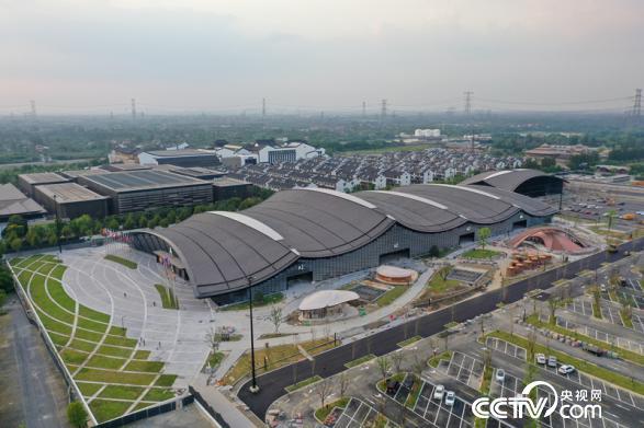 互联网之光博览会启用了新展馆——互联网之光博览中心(桐乡市委宣传部供图)