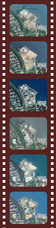 厦门市海峡旅游服务中心变迁卫星图