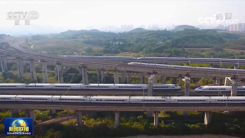 """【""""十三五""""成就巡礼·坐着高铁看中国】高铁越山海 贵广奔小康"""