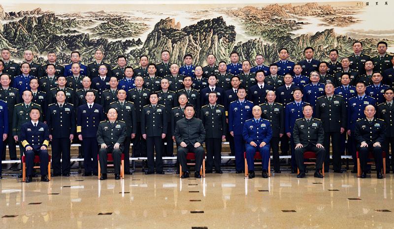 习近平接见全军思想政治教育工作会议代表