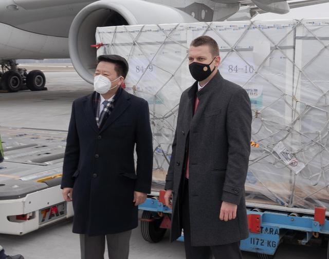 到啦!中国新冠疫苗落地欧盟