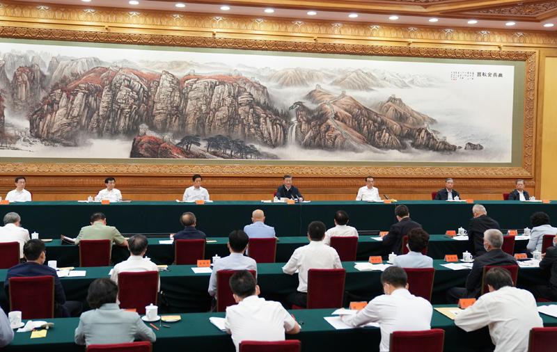 8月27日至28日,中央民族工作会议在北京召开。中共中央总书记、国家主席、中央军委主席习近平出席会议并发表重要讲话。新华社记者 李学仁 摄