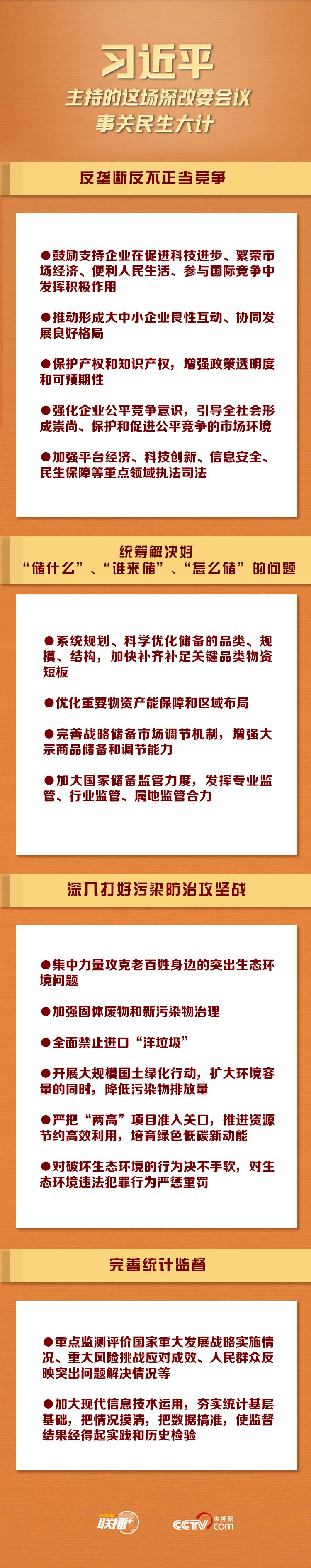 联播+丨习近平主持的这场深改委会议 事关民生大计